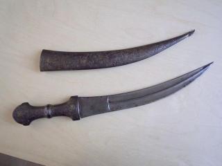 Кинжал в ножнах - бебут - Персия, конец XVIII – начало XIX века